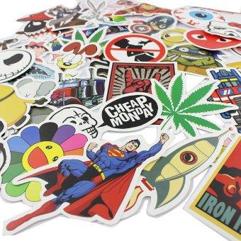 25 stickers Skateboard Vintage Vinyl Sticker Laptop Luggage Car Decals mix - 3