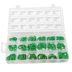 270Pcs O-ring Sealing Assortment Set Nitrile Butadiene Rubber 18Different Sizes Washer Seals NBR Kit