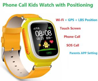 2Cool Kids Smart Watch with Touch Screen Phone Call WiFi PositionAnti Lose SOS GPS Tracker Children SmartWatch for iPhone Android -intl - 5
