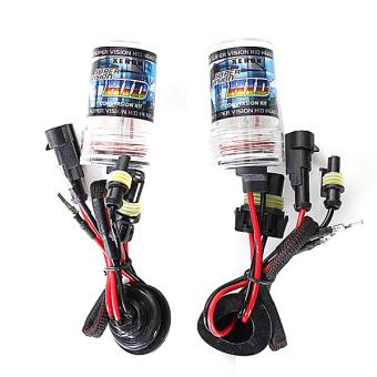 2PCS H8 55W XENON HID Replacement Light Bulb 5000k 3800LM+-300