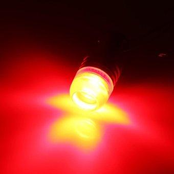 2Pcs Red 1157 2357 Strobe Flashing LED Projector Bulbs For Car Tail Brake Lights - intl - 3