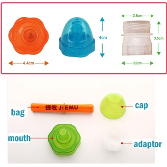 2Pcs/Set Baby Kids Mineral Drinking Water Bottle Conversion Mouth Mineral Water Converter Nipple Water Dispenser for Children - intl - 5