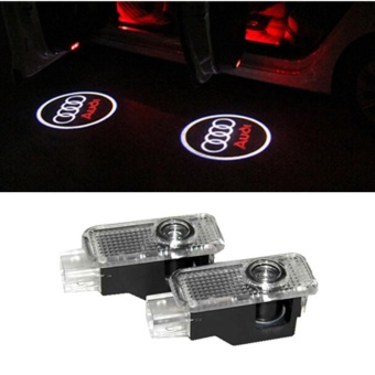 2X LED Car Door Welcome Light Laser Car Door Shadow led ProjectorLogo For AUDI A3 A4 B6 B7 A5 A6 C7 C5 A7 A8 R8 Q5 Q7 TT S line -intl Price Philippines