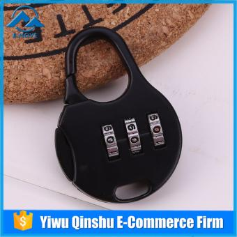 3 Combination Security Cabinet Travel Luggage Bag Code Padlock Lock