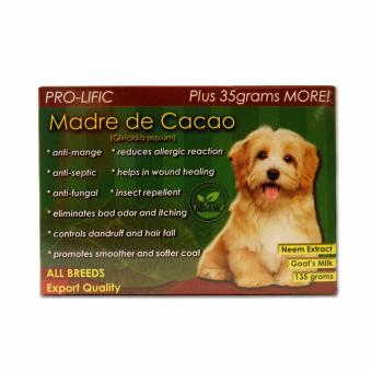3 in 1 Shampoo, Conditioner and Cologne 500mL (Lime) and Pro-lific Madre de Cacao Organic Soap 130grams - 3