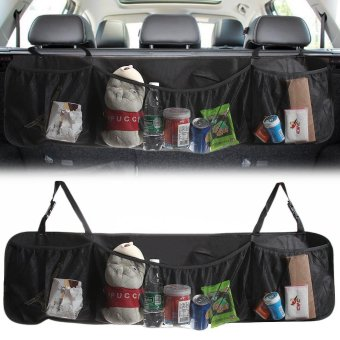 3 Pocket Auto Interior, Perfect Car Organizer, Trunk Organizer,Backseat Organizer, Multipurpose Cargo Accessories Organizer, BackSeat Storage Organizer - intl