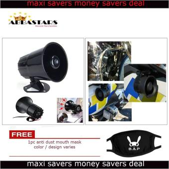 3 Tone Wang Wang Loud Security Siren Horn Warning Alarm UniversalCompatible for Motorcycle Car Scooter Fits All Blaxe Model