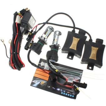 3000k 1 Set Xenon HID Conversion Kit H4 55W DC12V Dual Beam Headlight - intl - 2