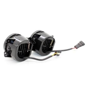 30W 4 Inch Car Led Fog Light Lamp Headlight High Power For OffroadJeep Wrangler Jk Harley Daymaker W/ Halo Ring Auto - intl - 4