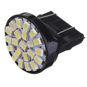 3157 T25 22 SMD LED Car Light DC12V Pure White 2pcs