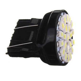 3157 T25 22 SMD LED Car Light DC12V Pure White 2pcs - picture 2