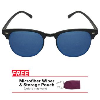 32sunny Harper Cool Blue Reflector Clubmaster Classic Square UnisexSunglasses Price Philippines