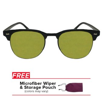 32sunny Harper Lemonade Yellow Reflector Clubmaster Classic SquareUnisex Sunglasses Price Philippines