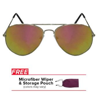32sunny Sandy Multicolored Pink/Green Classic Aviator Sunglasses Price Philippines