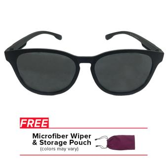 32sunny Walker Matte Black Round Sporty Unisex Sunglasses Price Philippines