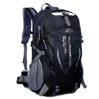 35L Outdoor Backpack for Hiking & Camping (Black)