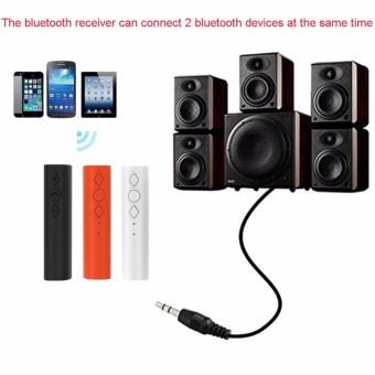 3.5mm Jack Bluetooth 4.2 Car Handsfree Audio Receiver Kit ForSpeaker Headphone - intl - 2