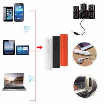 3.5mm Jack Bluetooth 4.2 Car Handsfree Audio Receiver Kit ForSpeaker Headphone - intl - 3