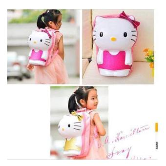 3D Hello Kitty Design Backpack Unique Cute Luxurious Fashionable