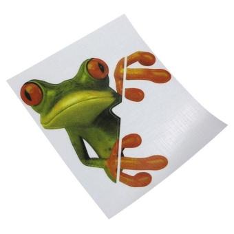 3D Peep Frog Funny Car Stickers Truck Window Decal Graphics Sticker - intl - 3