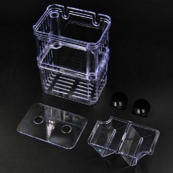 4 in1 Aquarium Fish Fry Breeding Hatchery Incubator Isolation Box Tank Shrimp Small - intl - 4