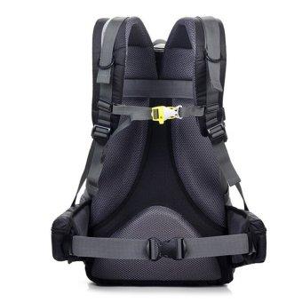 40L Waterproof Women Men Travel Backpack Outdoor Camping ClimbingHiking Backpack Bagpack Sport Back Bag - Yellow - 2