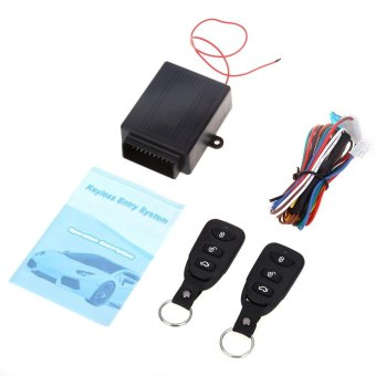 433.92MHz Universal Car Auto Vehicle Remote Central Kit Door LockUnlock Window Up Keyless Entry System - intl Price Philippines