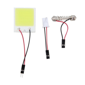48 LED COB Dome Lights for car interior lighting (White)