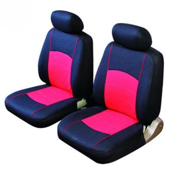 4PCS Car Cover Front Seat Bench Seat Red (Intl) - Intl