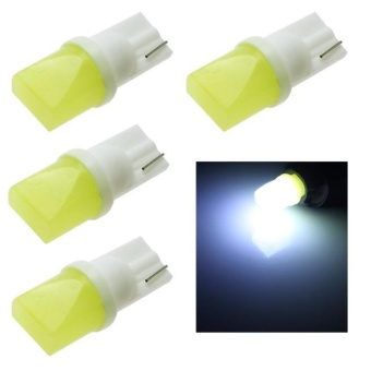 4pcs T10 3d LED W5W 2825 White Lights Car Side direction Dome LampBulbs DC 12V - intl Price Philippines