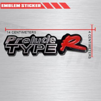 Search Philippines 4x Type R Prelude Logo Car Emblem 3cm Height