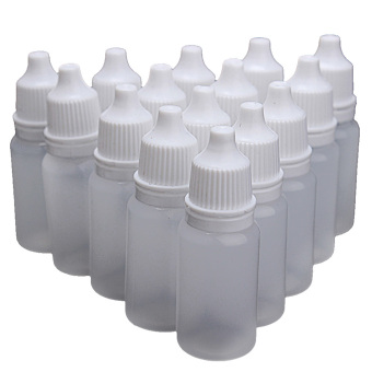 50 PCS 10ml Empty Plastic Eye Dropper Eye Liquid Saline SqueezeDropper Bottle