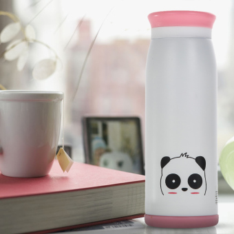 500ml Thermos Mug Insulated Tumbler Travel Cups Stainless SteelPanda - 5