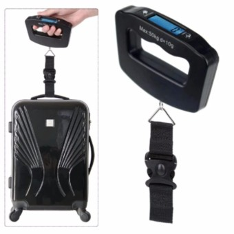 50kg /10g LCD Digital Hanging Luggage Weight Electronic ScaleTravel