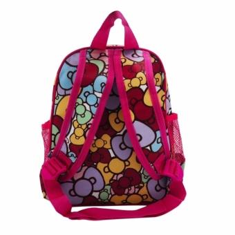 6007 HK Backpack for Kids (Rose Pink)#0126 - 3