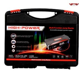 68800mAh 4USB Multi-Function 12V Car Jump Starter Power BankRechargeable Battery (Black/Red) - 3