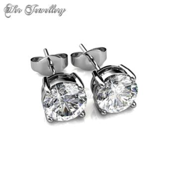 7 Days Earrings Set - Crystals from Swarovski - 3