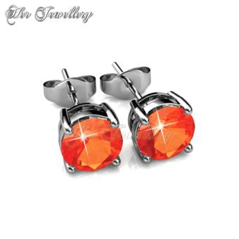 7 Days Earrings Set - Crystals from Swarovski - 5
