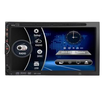 7 HD 2DIN Car Bluetooth Touchscreen CD DVD Player Stereo MP3 AUX FMRadio USB SD - intl