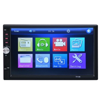 7'' HD Bluetooth Car Stereo Radio 2 DIN FM/MP5/USB/AUX/Touch Screen- intl
