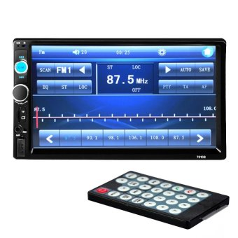 7 Inches HD Bluetooth Car Stereo Radio 2 DIN FM/MP5/USB/AUX/Touch Screen - intl