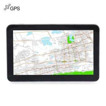 704 7 inch Truck Car GPS Navigation Navigator with Free Maps Win CE 6.0 / Touch Screen / E-book / Video / Audio / Game Player (MAP 2) (Black) - intl