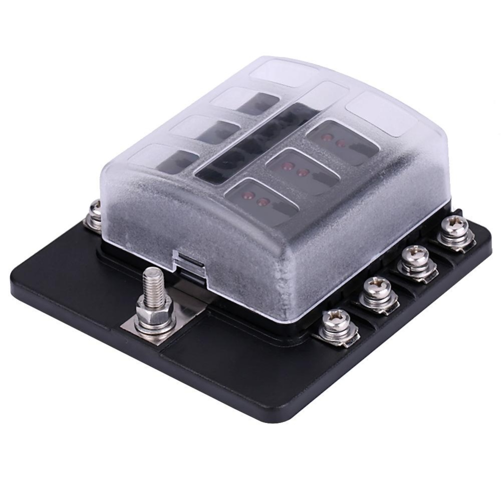 Philippines 8 Way Circuit Blade Fuse Box Standard Ato Atc Block Holder Kit Forauto Car Truck Boat