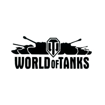 8cm*20cm World of Tanks Cool Fashon Personality Reflective CarSticker/Decal for Car and Motorcycle - intl - 2