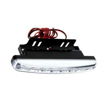 8LED Daytime Driving Running Light DRL Car Fog Lamp Waterproof White DC 12V White