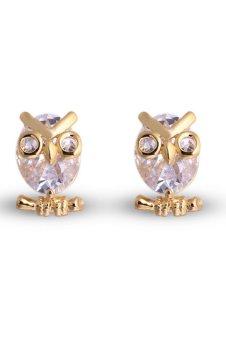 8YEARS K81920 Stud Earrings (Golden)