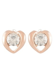 8YEARS UP03030 Stud Earrings (Rose Gold)