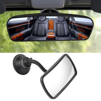 ABS Universal Interior Adjustable Rear View Mirror Baby SuctionCups Rear View Mirror for Car SUV Truck Mirror - intl