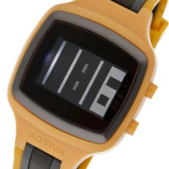 Activa by Invicta Giotto 45 DigitalMen'sMulti-colorPolyurethaneStrap Watch AA400-023 - 2