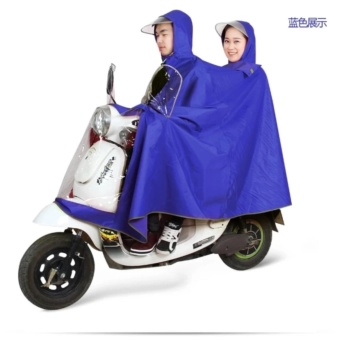Adults Motorcycle Cycle Scooter Waterproof Double Rain Coat